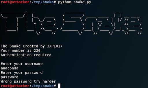 Reversing Challenge: Snake HTB – Learning to hack the planet